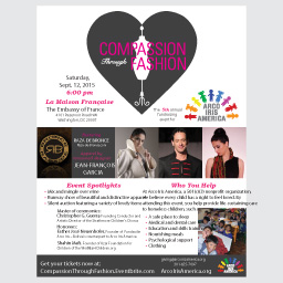 Compassion Through Fashion Event Flyer - 2.07 mb